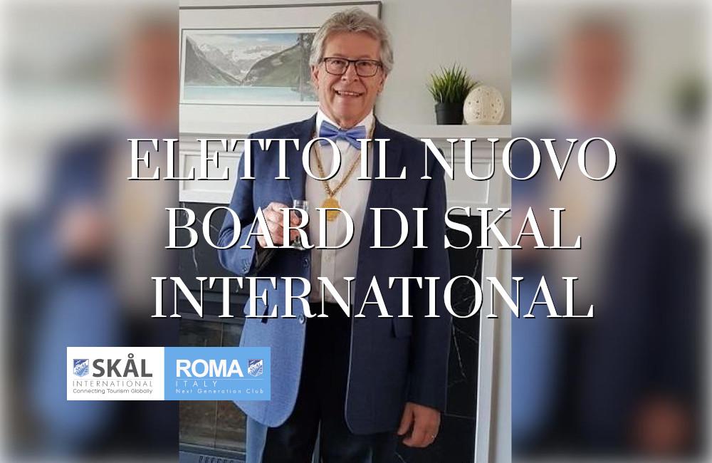 Nuovo Board di Skal International 2021
